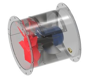 Portable gas freeing fans - Nyborg AS - Mechanical ventilation of