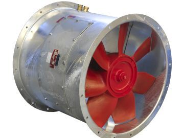 Axial Flow Fans Nyborg As Mechanical Ventilation Of